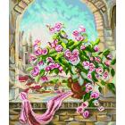 Рисунок на канве МП (41*41 см) 1887 «Розовый куст»