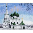 Рисунок на канве МП (24*30 см) 0691 «Церковь Спаса на Городу»