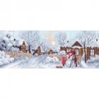 Рисунок на канве МП (24*47 см) 1203 «Рожденственские каникулы» (снят)