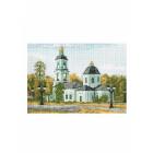 Рисунок на канве МП (33*45 см) 0287 «Церковь»