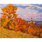 Рисунок на канве МП (24*30 см) 0172 «Осень»