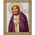 Рисунок на канве МП (28*34 см) 0728 Икона «Серафим Саровский»