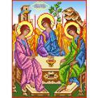 Ткань для вышивания бисером МП 3046 «Святая троица» 28*34 см