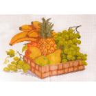 Рисунок на канве МП (33*45 см) 0392 «Натюрморт с фруктами»