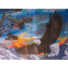 Рисунок на канве МП (33*45 см) 0361 «Орел»