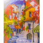 Рисунок на канве Гамма ММ-3075 Улица 28*34 см
