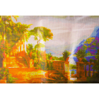 Рисунок на канве Гамма ММ-3074 Средневековый парк 28*40 см