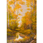 Рисунок на канве МП (37*49 см) 1242 «Сторожка лесника»