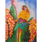 Рисунок на канве А-1623 «Попугай» 32*44 см