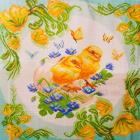 Рисунок на канве МП (41*41 см) 0961 «Птенцы. Подушка» (снят)