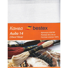 Канва 50*50 Bestex 624010-14С/Т  белая
