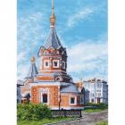 Рисунок на канве МП (33*45 см) 0772 «Часовня Александра Невского»