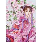 Рисунок на канве МП (37*49 см) 1153 «Розовые мечты»