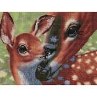 Алмазная мозаика Подсолнух UB230 «Мама и малыш» 30*40 см на подрамнике