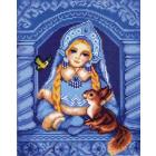 Рисунок на канве МП (24*30 см) 0116 «Снегурочка»