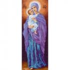 Рисунок на канве МП (24*47 см) 0866 «Владимирская БМ с младенцем»