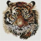 Алмазная мозаика Подсолнух UC108 «Тигр» 20*20 см на подрамнике