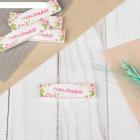 Фигурки (набор нашивок) 4699341 «Hand Made. Цветы» 1 0*7*1 см уп. 5 шт.