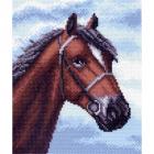 Рисунок на канве МП (23*28 см) 1491 «Верный конь»