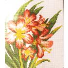 Рисунок на канве МП (22*25 см) 0439 «Лилии»