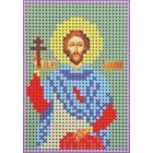 Ткань для вышивания бисером А6 КМИ-6419 «Св. Валентин» 7*10 см
