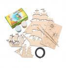 Набор Astra&Craft для деревянных заготовок 560438 «Корабли»