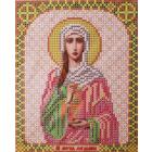 Ткань для вышивания бисером Благовест И-5198 Св. Мария 13*17 см