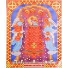 Ткань для вышивания бисером Благовест И-5030 Пр. Богородица Прибавления ума 13,5*17см