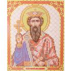 Ткань для вышивания бисером Благовест И-5111 Святой Князь Владимир 13,5*17 см