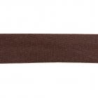 Косая бейка атлас. Ч. (уп. 132 м) 302 коричневый