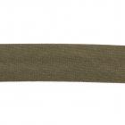 Косая бейка атлас. Ч. (уп. 132 м) 327 хаки