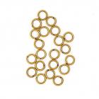 Кольцо для бус Астра 6 мм 4AR241/242/243 соедининтельное  (уп. 50 шт.) медь 7727695