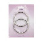 Кольцо разъемное 816-011 40*4,0 мм упак 2шт блистер НР 715230 никель