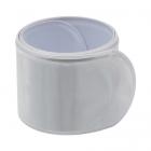 Светоотражающий браслет-полоска 502917 3*30 см серебристый