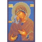 Ткань для вышивания бисером А5 КМИ-5309 «Св. Анна» 10*18 см