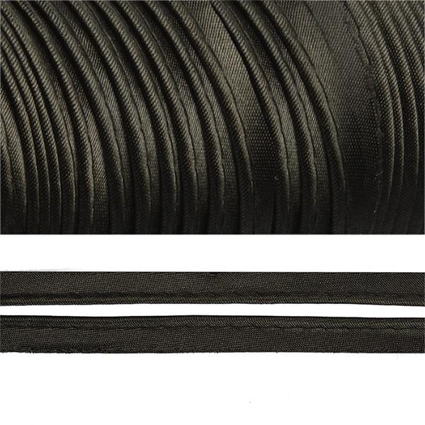 Кант атласный цветной Ч. (уп. 65,8 м)