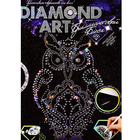 Алмазная мозаика DIAMOND ART «Королевская сова»