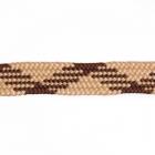 Шнурки  арт.162-П  6 мм 100 см №42 бежевый/коричневый