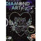 Алмазная мозаика DIAMOND ART «Совы на ветке»