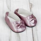 Обувь для игрушек (Туфли) 4258951 «Бантик» 7,0 см розовый (пара)