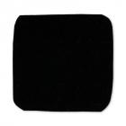Термоаппликация 4327343 «Квадрат» черный 2,6*2,6 см