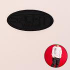 Термоаппликация 4327356 «Sport» черный 3,5*7,2 см
