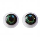 Глаза винтовые 4380024 2,6 см зеленый