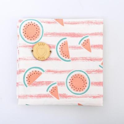 Ткань 50*105 см 4404271 «Арбузики» белый/розовый в интернет-магазине Швейпрофи.рф