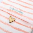 Ткань 45*75 см 4404272 «Полоска»  белый/розовый
