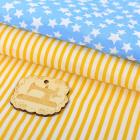 Ткань 50*65 см 4404280 «Солнечный день» белый/голубой