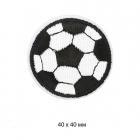 Термоаппликация TBY.S07 Футбольный мяч 59344 4*4 см черный/белый