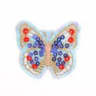 Термоаппликация LА173 «Бабочка» 4,5*4 см