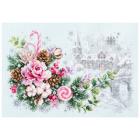 Набор для вышивания Чудесная Игла  №100-244 «Рождественское настроение» 22*32 см