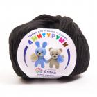 Пряжа Амигуруми (Astra), 50 г / 175 м, 003 чёрный